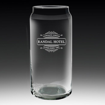 Large Glass Can