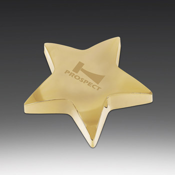 Starbright I Paperweight with Pouch